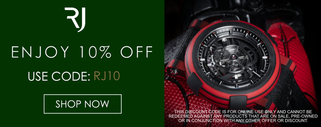 Romain Jerome Watches Discount Code