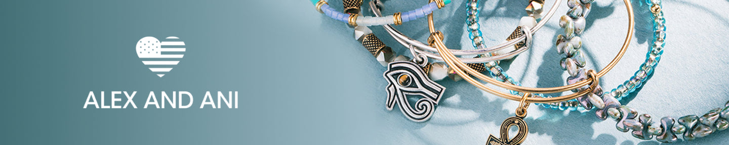 Alex and Ani banner