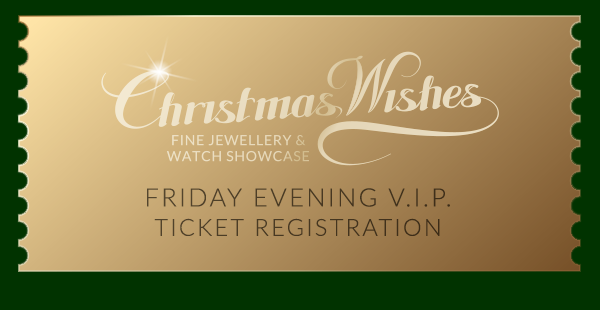 Friday Evening V.I.P. Ticket Registration