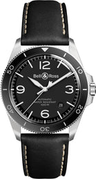 Bell & Ross Watch Vintage BR V2-92 Black Steel BRV292-BL-ST/SCA