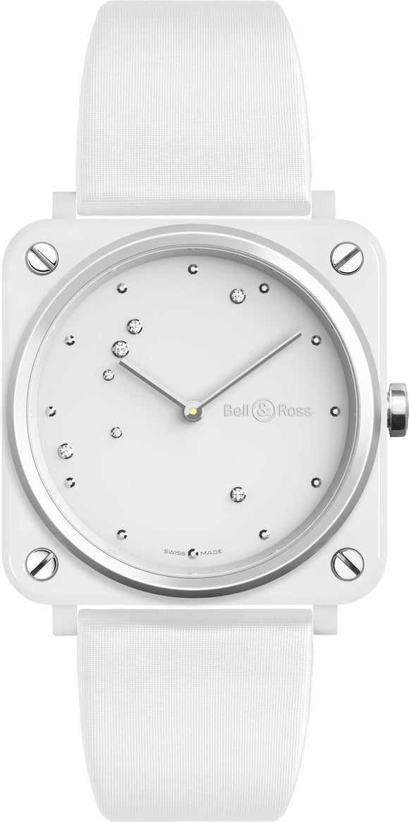 Bell & Ross Watch BRS White Diamond Eagle BRS-EW-CE/SF