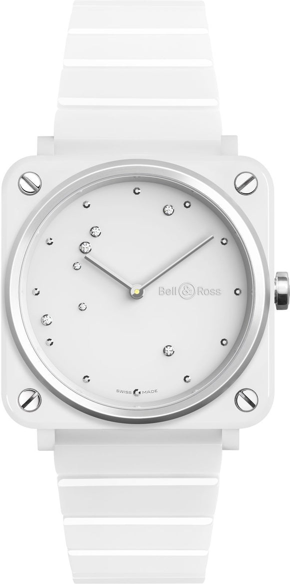 Bell & Ross Watch BRS White Diamond Eagle BRS-EW-CE/SCE