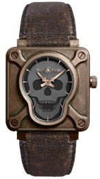 Bell & Ross Watch BR 01 Skull Bronze Limited Edition BR0192-SKULL-BR