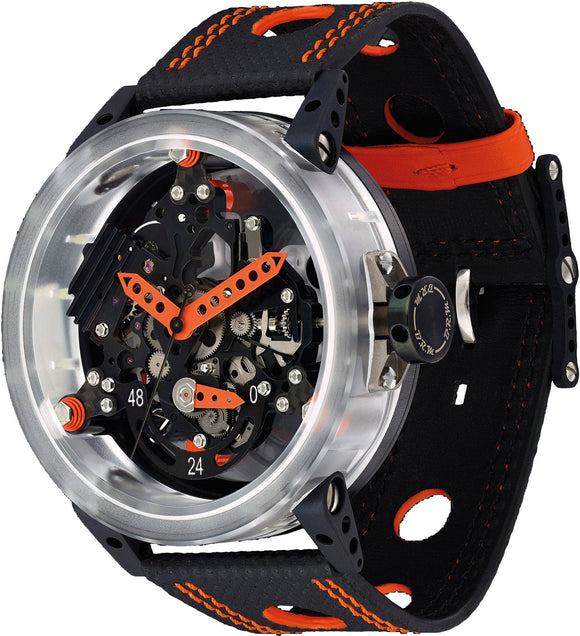 B.R.M. Watches R-50 Orange Hands R-50-MK-AO