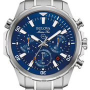 Bulova Watch Marine Star 96B256