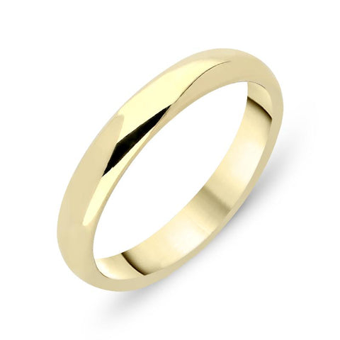 18ct Yellow Gold 5mm Light Court Shape Wedding Ring