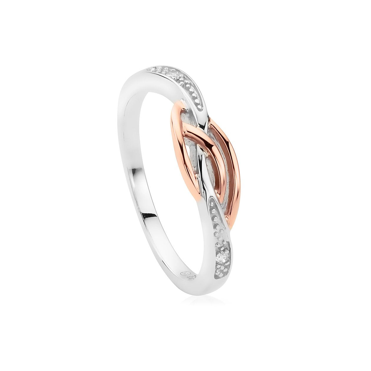 43c0dec2e55ae Clogau Eternal Love Sterling Silver Affinity Stacking Ring