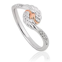 Clogau Seraphina Sterling Silver Topaz Ring