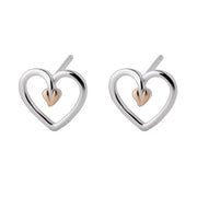 Clogau Tree Of Life Sterling Silver Stud Earrings, 3STLHE7.