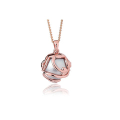 Clogau Tree Of Life Rose Gold Pearl Necklace