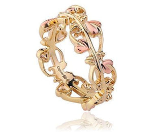 Clogau Tree of Life 9ct Yellow and Rose Gold Ring. TOLR4