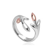 Clogau Tree of Life Sterling Silver Eden Ring 3STOLR01
