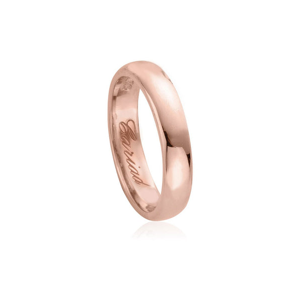 Clogau Windsor 18ct Rose Gold 4mm Wedding Ring 18WED4DR