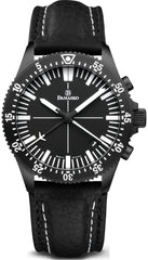 Damasko Watch DC 82 Black Leather Pin