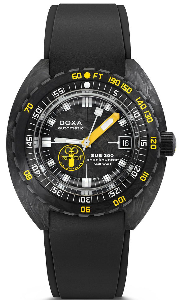 Doxa Watch SUB 300 Carbon Aqua Lung US Divers Limited Edition 822.70.101AQL.20