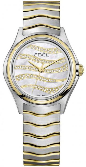 Ebel Watch Wave Diamond Dial  1216271
