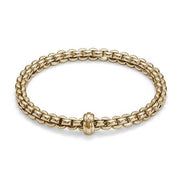 Fope Flex'It Eka 18ct Yellow Gold Bracelet. 721B