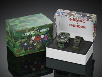 G-Shock Watch Gorillaz Limited Edition D
