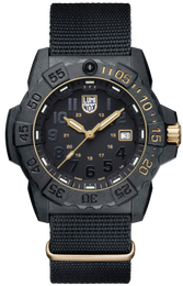 Luminox Watch Navy Seal Steel 3500 Series Limited Edition 3501.GOLD.SET