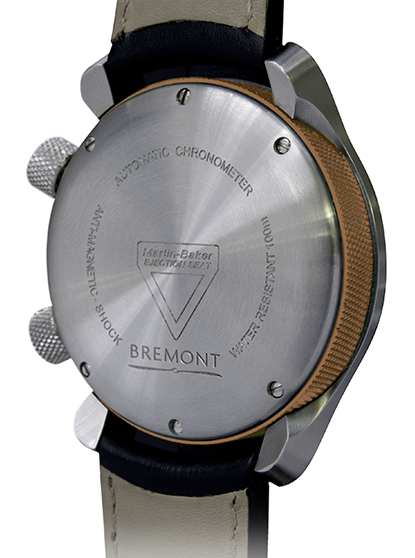 Bremont Watch Martin Baker MBIII GMT Bronze