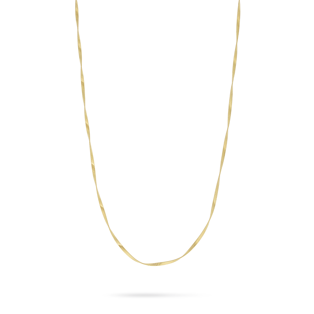 6f77682a4de727 Marco Bicego Marrakech Supreme 18ct Yellow Gold Necklace | W Hamond ...