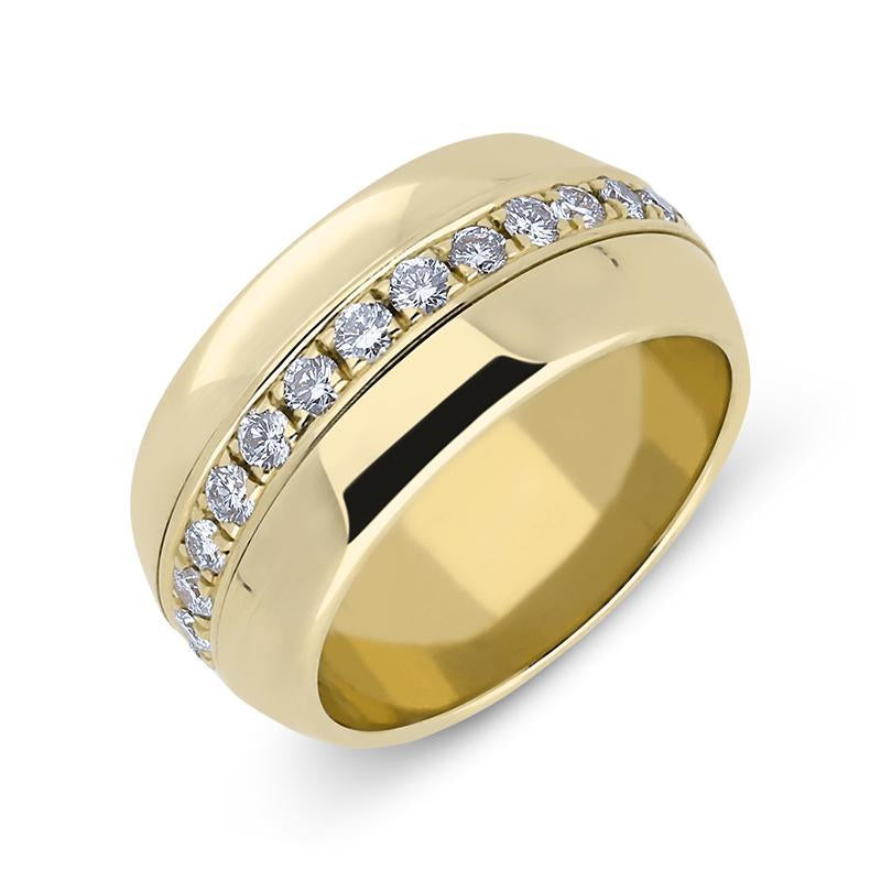 Picchiotti 18ct Yellow Gold 0.76ct Diamond Ring