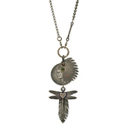 00179790 Valkyrie Eisenhower Chief Dragonfly Necklace N1081