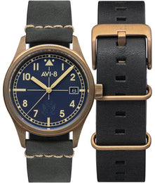 AVI-8 Watch Flyboy Eagle Squadron Bronze
