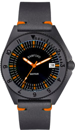 Bamford Watch Mayfair Date MAY-D-BLK-AOR-1