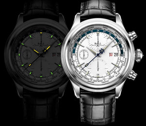 Ball Watch Company Trainmaster Worldtime Chronograph