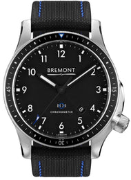 Bremont Watch Boeing Model 1 Black BB1-SS/BK/R
