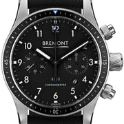 Bremont Watch Boeing Model 247 Chrono Black BB247-SS/BK/R