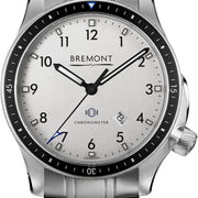 Bremont Watch Boeing Model 1 White Bracelet BB1-SS/WH/BR