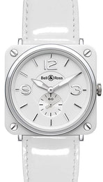 Bell & Ross BRS White Dial Ceramic BRS-WH-CERAMIC