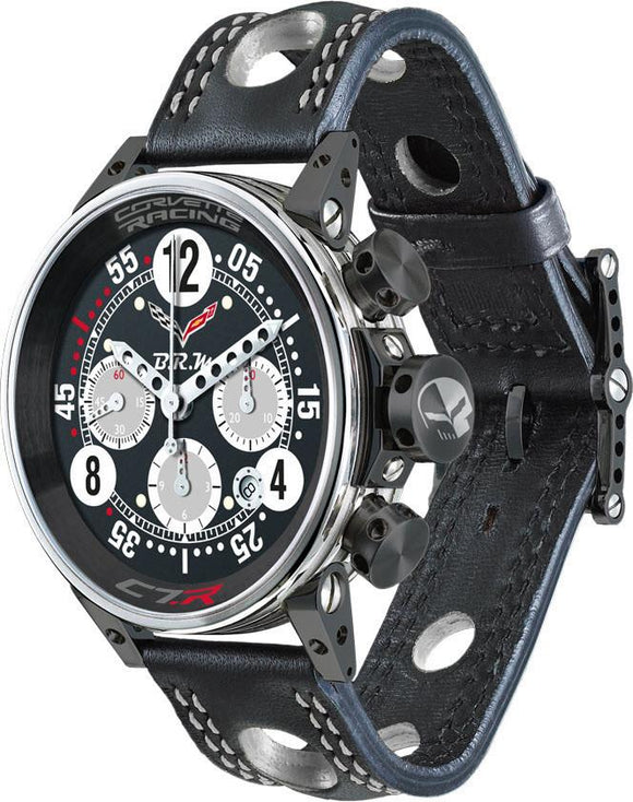 B.R.M Watch V12-44 Corvette Racing Grey Hands Limited Edition V12-44-COR-04