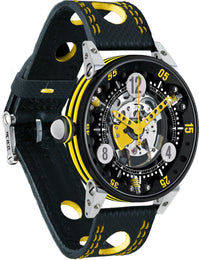 B.R.M Watch Golf Master Mens Yellow Hands GF6-44-SA-N-SQ-AJ