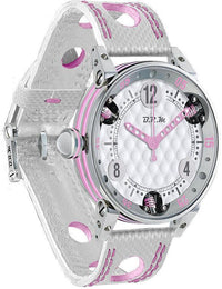 B.R.M Watch Golf Master Ladies Light Pink Hands GF7-38-SA-672