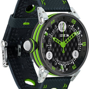 B.R.M Watch Golf Master Ladies Lime Green Hands GF7-38-SA-N-AVP