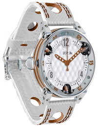 B.R.M Watch Golf Master Ladies Brown Hands GF6-44-SA-463