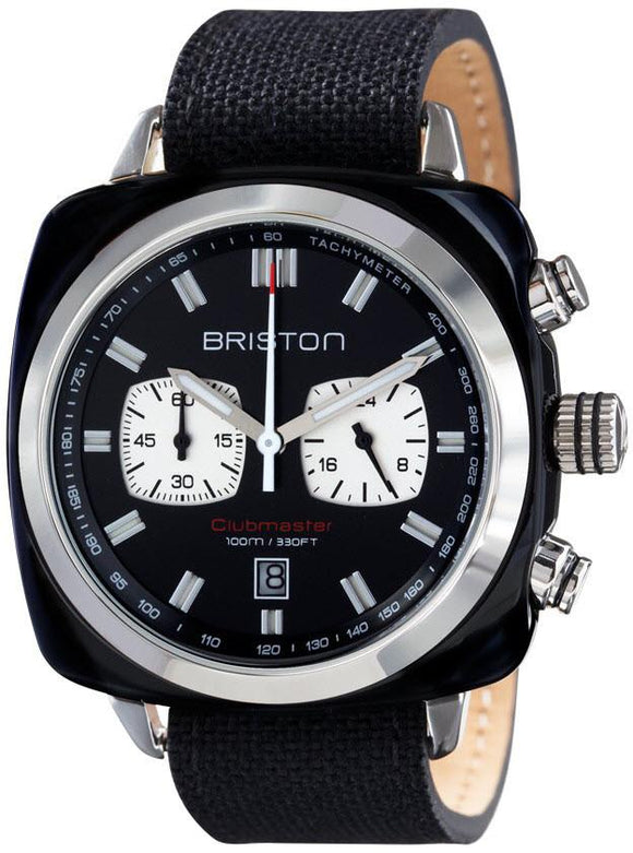 Briston Watch Clubmaster Sport Timeless 15142.SA.BS.1.LSB