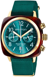 Briston Watch Clubmaster Classic Acetate Gold 19140.PYA.T.27.NE