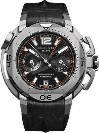 Clerc Watch Hydroscaph LE Central Chrono CHY-157 Black