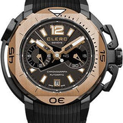 Clerc Watch Hydroscaph LE Central Chrono CHY-313 Silver