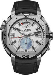 Clerc Watch Hydroscaph GMT Power Reserve GMT-1.9R.1 Silver
