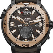 Clerc Watch Hydroscaph GMT Power Reserve GMT-3.10R.3 Black