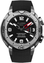 Clerc Watch Hydroscaph H1 Auto H1-1.1.5 Black