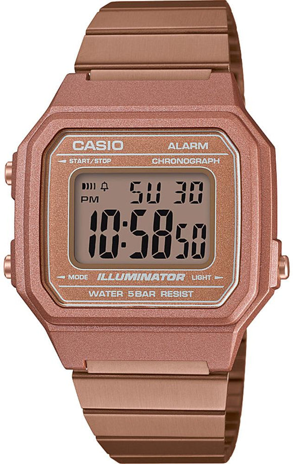 Casio Watch Illuminator Alarm B650WC-5AEF