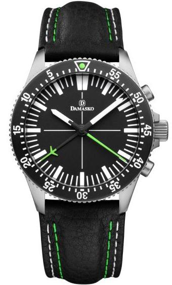 Damasko Watch DC 80 Matt Leather Pin DC 80 Matt Leather Pin