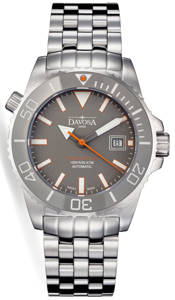 Davosa Watch Argonautic BG Grey Mens 161.522.90