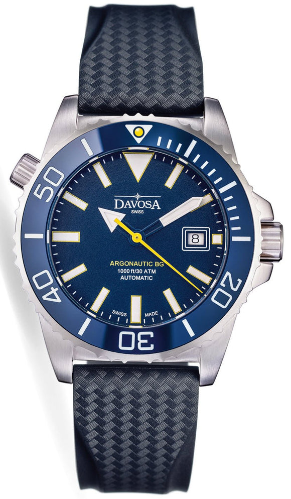 Davosa Watch Argonautic BG Blue Mens 161.522.45